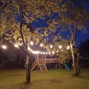 Erdvė šventei vakare