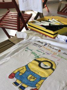 Piešinys ant marškinėlių