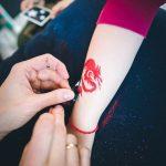 Blizgančios tatuiruotės